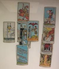 vedeževanje po telefonu s tarot kartami