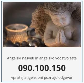 angeli pričakujejo, da komuniciraš z njimi