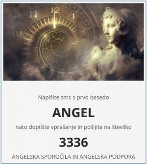 angeli vedeževanje angel na 3336