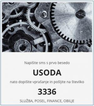 vedeževanje služba in usoda na 3336