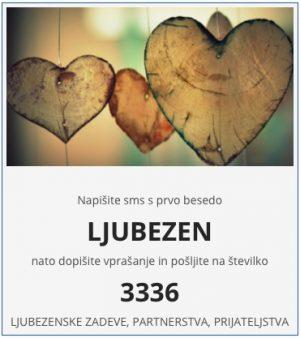 sms vedeževanje ljubezen na 3336